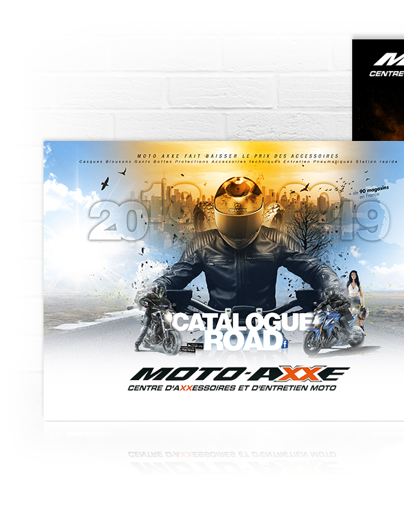 Moto Axxe Catalogue Route
