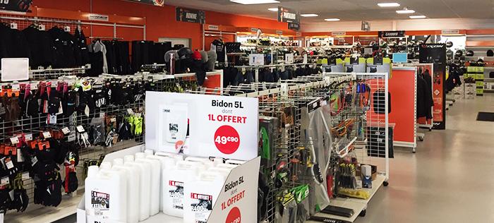 Intérieur magasin Laon / Chambry