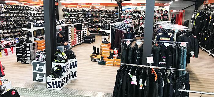 Intérieur magasin Brive la Gaillarde