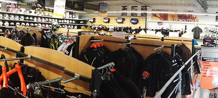 Intérieur magasin Quimper