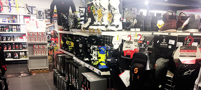 Intérieur magasin Dole / Tavaux