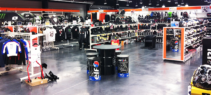 Intérieur magasin Saint-Lô