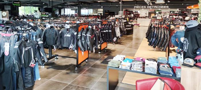 Intérieur magasin Chambéry