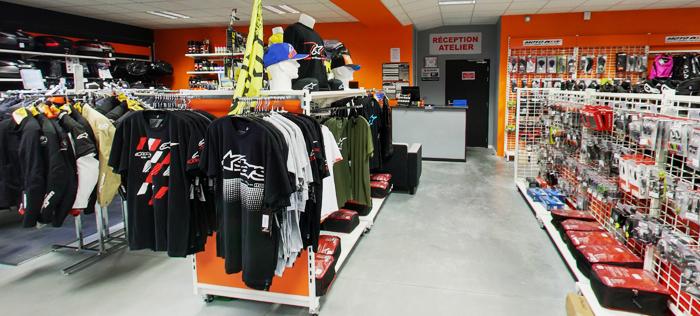 Intérieur magasin Niort