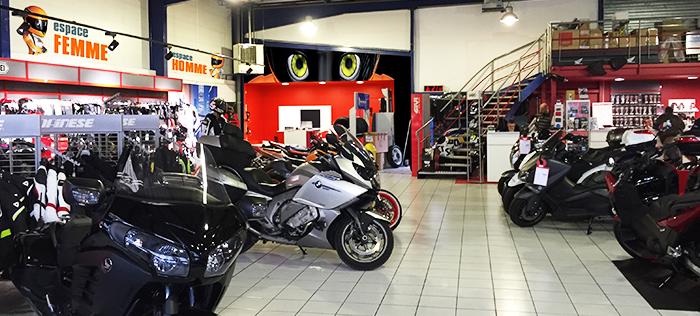 Intérieur magasin Créteil