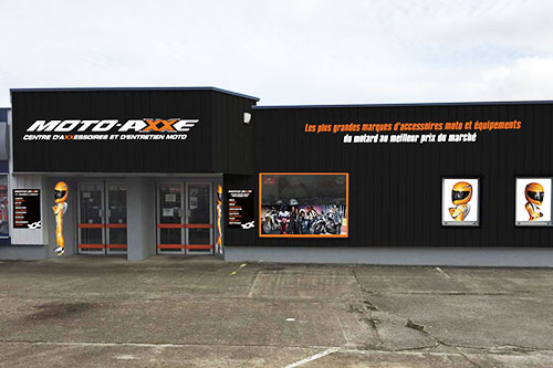 Le r seau moto axxe - Boutique orange beauvais ...
