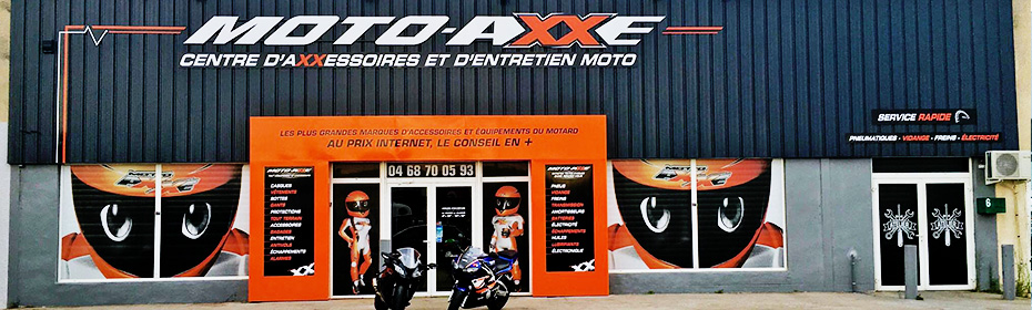 Moto Axxe France Narbonne