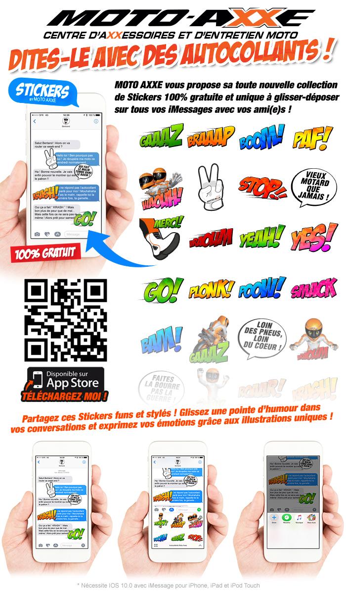 Stickers Moto Axxe