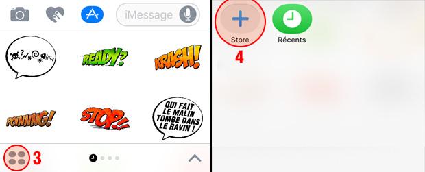 Tuto App Stickers