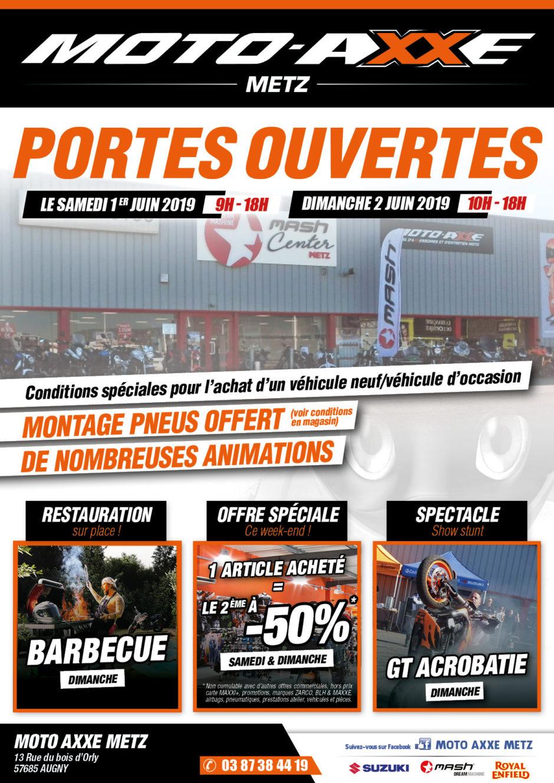 Portes ouvertes Moto Axxe Metz