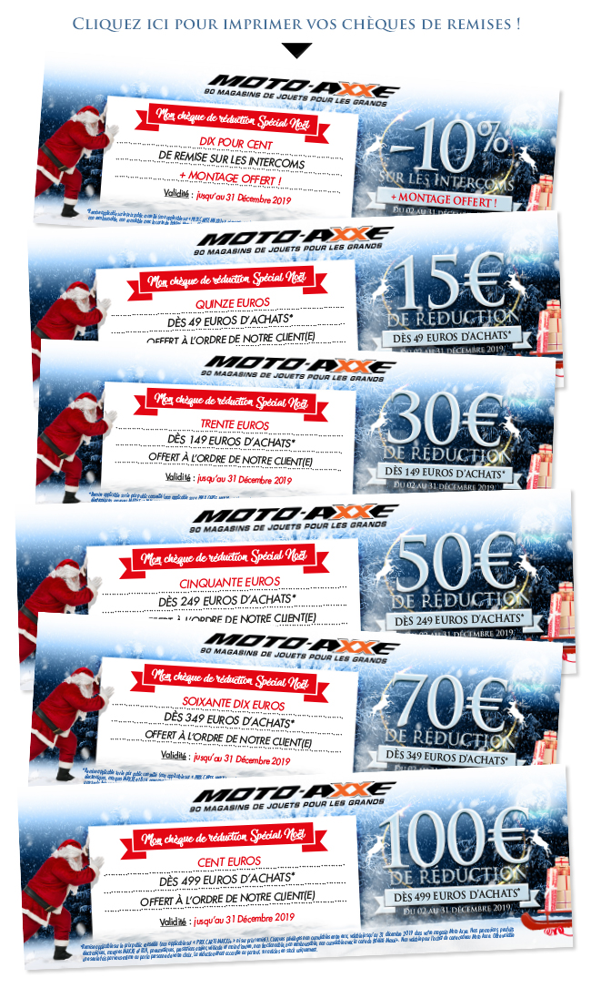 Imprimez vos chèques de remises