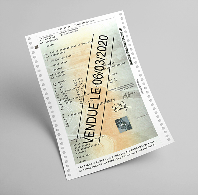 Pieces Et Demarches Pour Immatriculer Une Occasion Moto Achetee En France Moto Axxe France